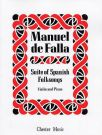 FALLA, MANUEL DE - Suite of Spanish Folksongs - for Violin and Piano - nuty na skrzypce i fortepian - J. & W. Chester - CH00430